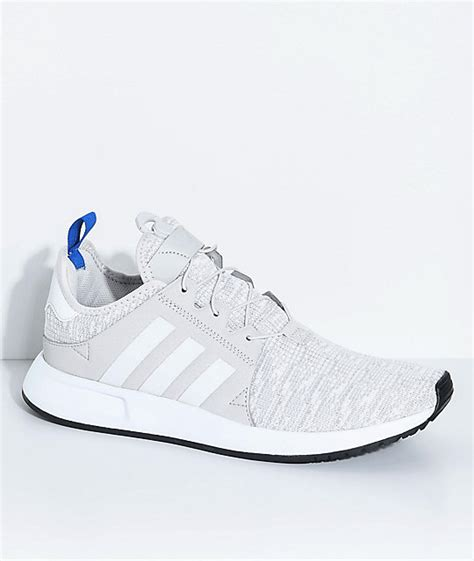 adidas light white adidas xplorer light grey blue and white shoes zumiez