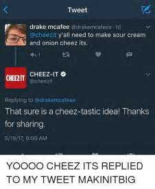 cheez it meme tweet mcafee cafeee1d y all need to make sour