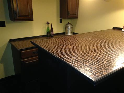 Tile Bar Top by Tile Bartop 171 P K Builders Lehigh Valley Builders Home