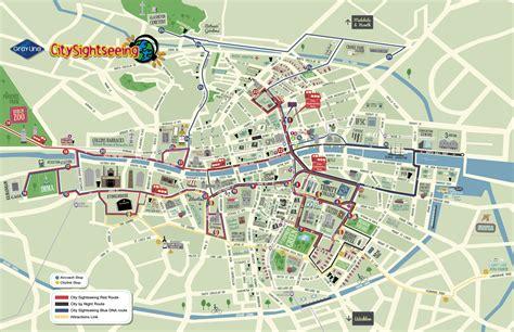tour map city sightseeing dublin hop on hop tour