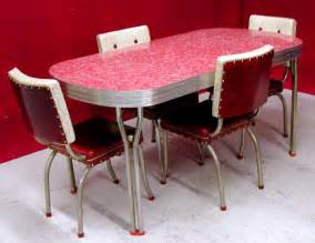 Retro Style Kitchen Table Chrome And Formica Dining Sets 1950 S Ca 1950s Dining Chairs High Quality 50 S Style Retro