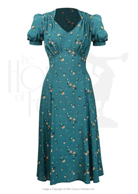 dance dresses of the 1940s ehow uk 1940s perfect tea dance dress in spring garden