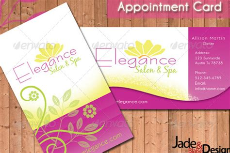 22 appointment card templates free psd pdf design ideas