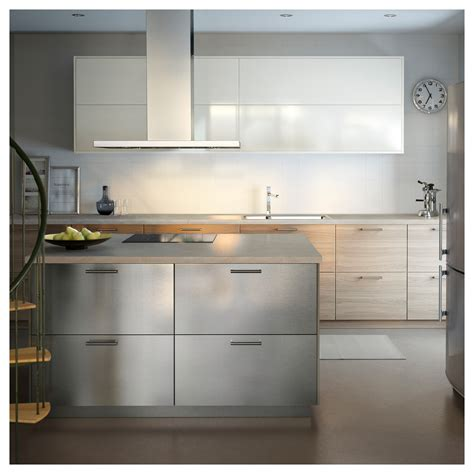 stainless steel kitchen cabinets ikea grevsta door stainless steel 40x80 cm ikea