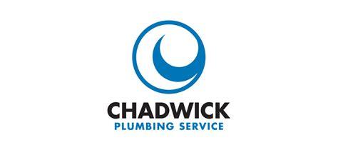 Chadwicks Plumbing logo and branding website design for chadwick plumbing