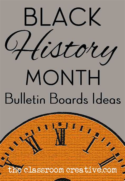 black history themes for schools black history month bulletin board ideas