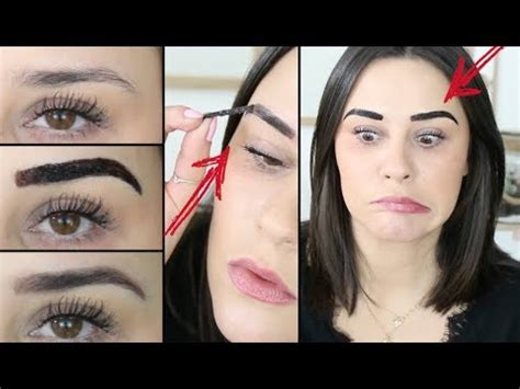 what to use on a new tattoo j ai test 201 le brow de maybelline crash test