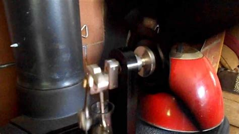 vulcan wood stove fan vulcan stirling engine stove fan youtube