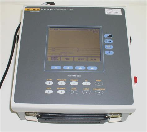 Winn Gas Torch Ms T3 fluke vt plus hf gas flow analyzer vt plus hf gas flow