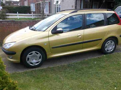 peugeot estate cars for sale peugeot 206 estate only 46 000 car for sale