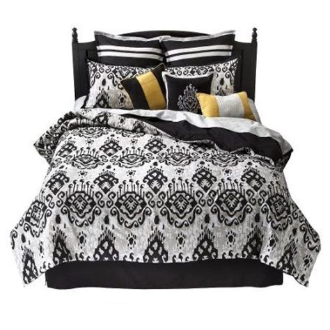 yellow black and white comforter sets 17 best images about black and white striped bedding on