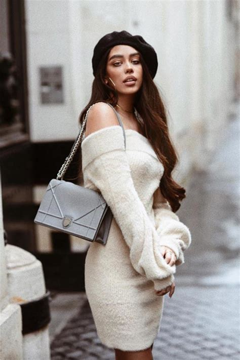 knit outfit how to wear a sweater dress 9 cool knit for 2019
