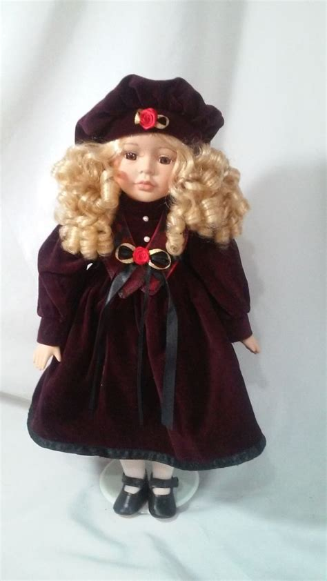 porcelain doll hair vintage porcelain doll 16 quot s day doll