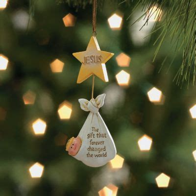 jesus christmas tree christian ornaments ornaments