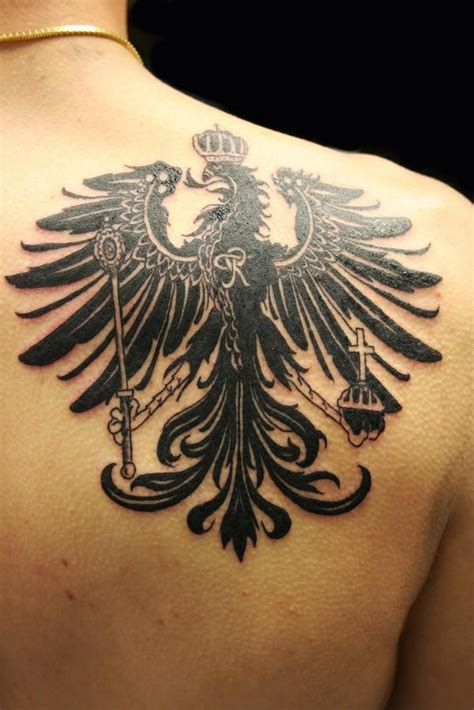 germanic tattoos tattoos german eagle models picture