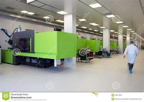 design for environment manufacturing injection molding of biomedical products in clean room