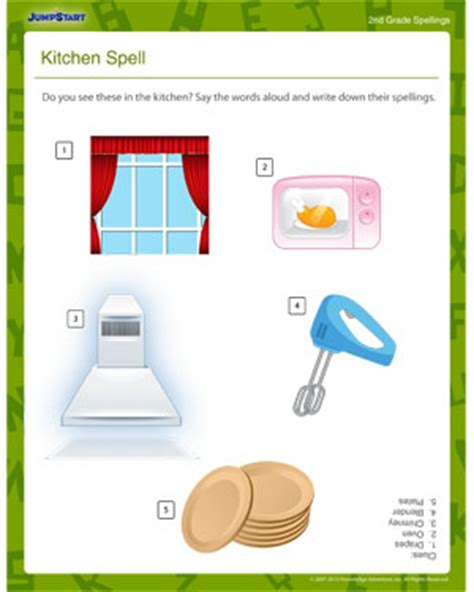 Kitchen Spelling by Kitchen Spell Free Spelling And Grammar