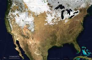 united states snowfall map united states satellite image giclee print topography