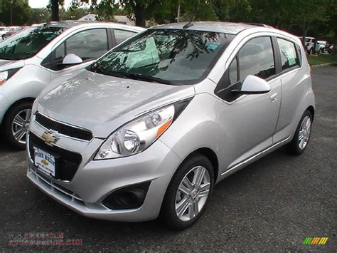 white and silver ls 2013 chevrolet spark ls in silver ice photo 3 505105