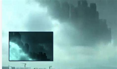 film over china did parallel universe open up hundreds see floating city