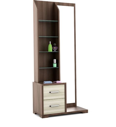 Online Home Decor India by Savana Dressing Table In Moldau Akazia And Brown Finish By
