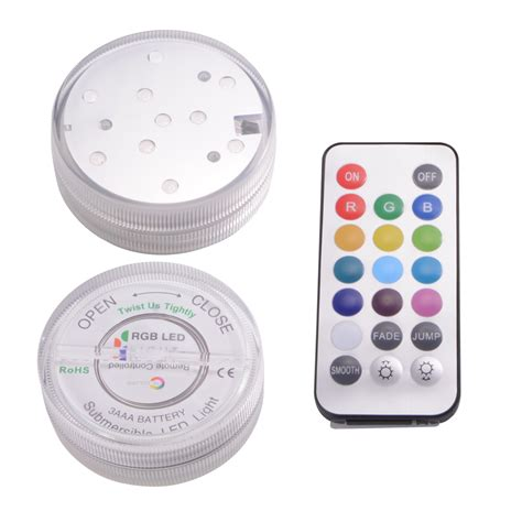submersible led lights with remote control multicolor remote control submersible underwater led