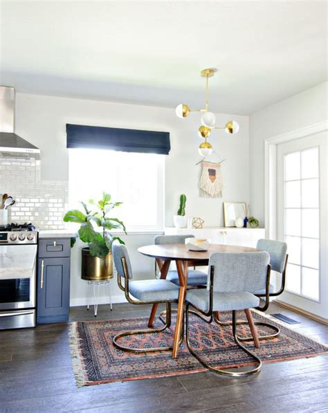 navy dining room navy gold white dining room brittanymakes interiors kitchen rug navy gold
