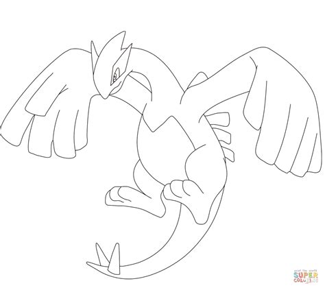 articuno coloring pages to print coloring pages