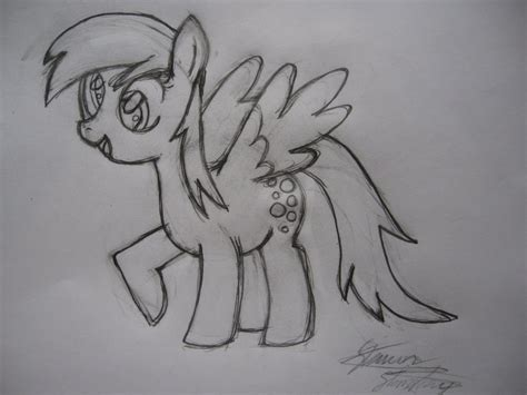 Tempat Pensil Pony Friends Kid derpy pencil sketch by sjstansbury on deviantart