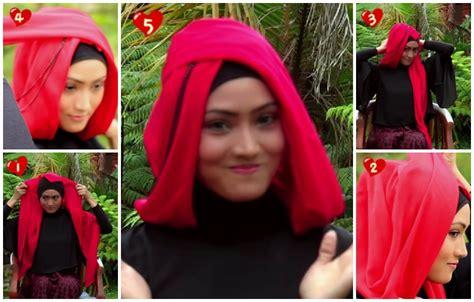 tutorial hijab pesta bisikan com tutorial hijab paris untuk pesta yang unik dan anggun