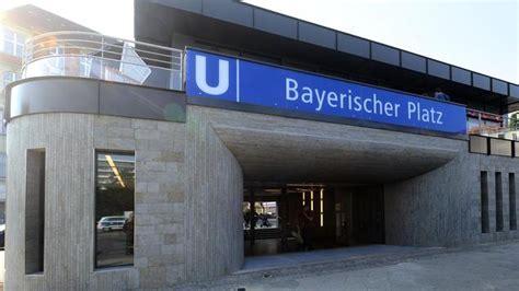 feuchte decke u bahnhof bayerischer platz neues caf 233 neuer aufzug