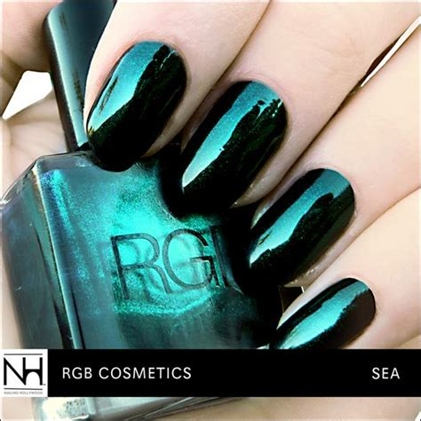 nail color in sea awesome green nails and