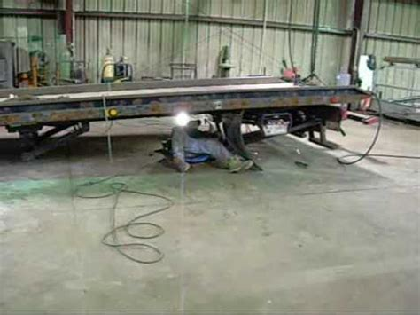 Used Wrecker Beds For Sale by Installing Used Jerr Dan On A New Chassis 0001