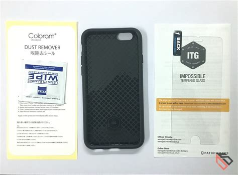 Colorant Iphone 6s Itg Level Pro Glass Sand 1 patchworks itg level slim protection for iphone 6s