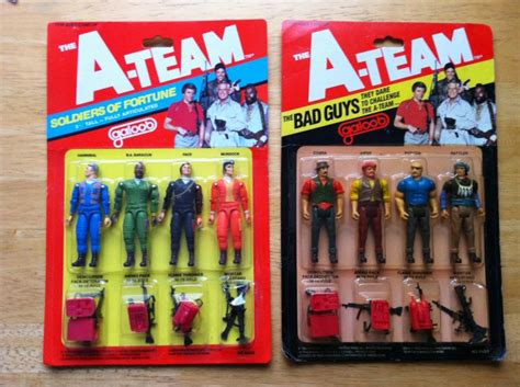 a team figures vintage a team figures from galoob