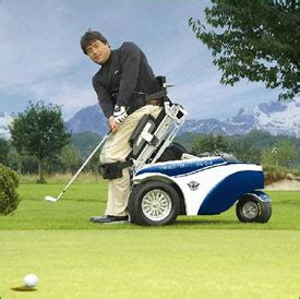paragolfer wheelchair designed  golf