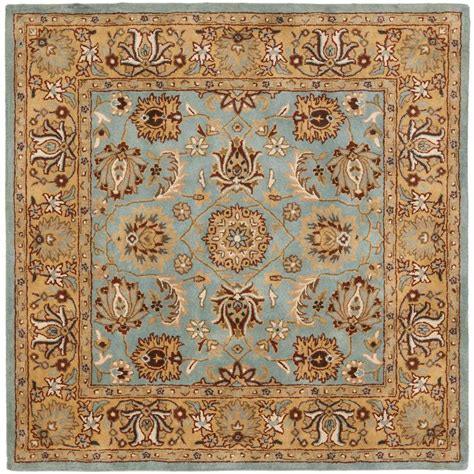Square Wool Rugs by Safavieh Vintage Turquoise Multi 8 Ft X 8 Ft Square Area