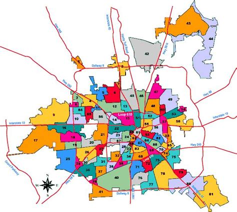 houston suburbs map map of houston neighborhoods for those of us who didn t