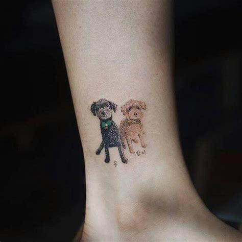 Minimalist Yorkie Tattoo | 25 best ideas about pet memory tattoos on pinterest
