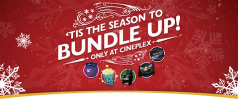 cineplex holiday gift bundle cineplex canada holiday offers free gift bundle with