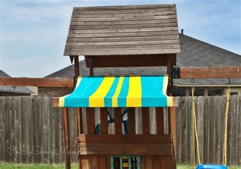 swing set canopy replacement easy diy swing set canopy replacement oh so savvy mom