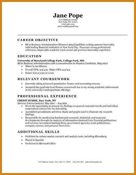 accounting resume templates entry level entry level accounting resume letter format template