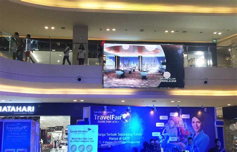 Monitor Led Semarang mall paragon semarang leseen led display