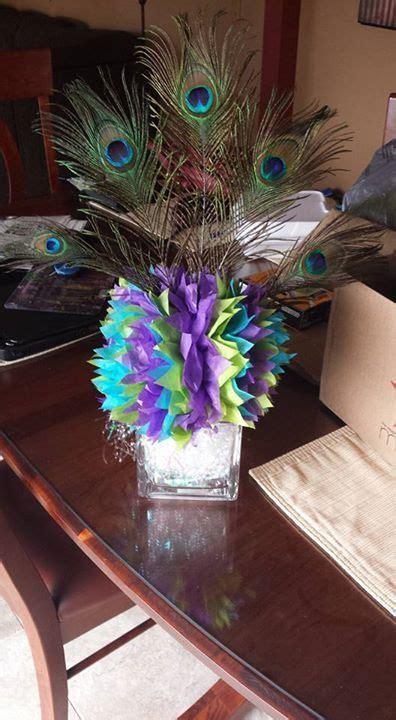 best 25 peacock centerpieces ideas on peacock