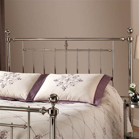 Metal Headboards hillsdale metal nickel headboard ebay