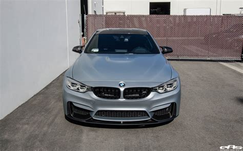 How To Build A Car Garage frozen silver bmw m4 gets modded