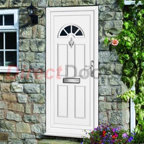 White Pvc Front Doors Lomond Style Exterior White Pvc Doors