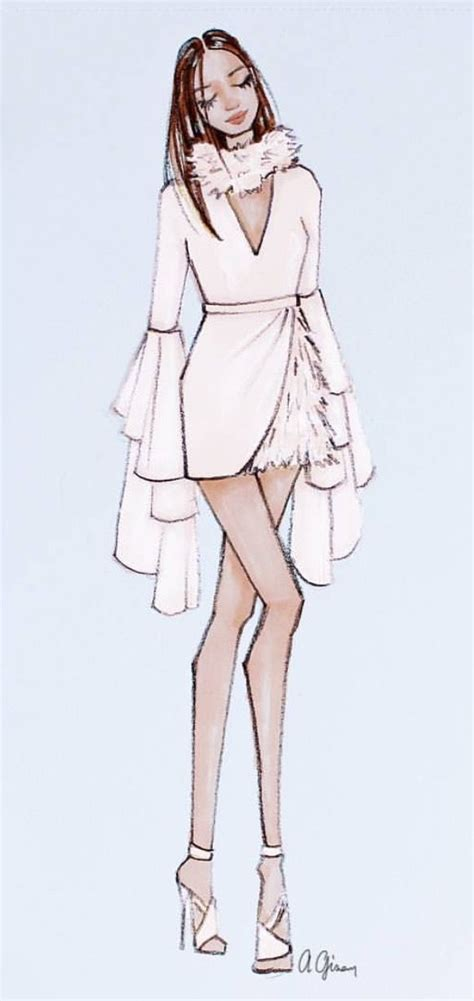 fashion illustration pro 25 best ideas about drawing fashion on
