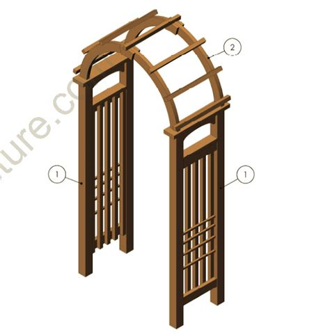 arbor trellis plans garden arbor plans autumn weddings pics