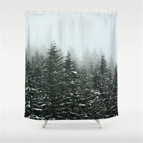 wilderness shower curtain shower curtain bathroom wilderness rustic home decor